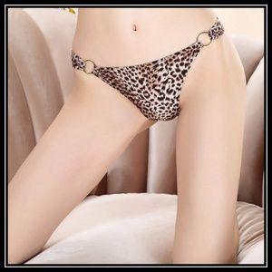 ❤️NEW Sexy Leopard Panty #P004BRN